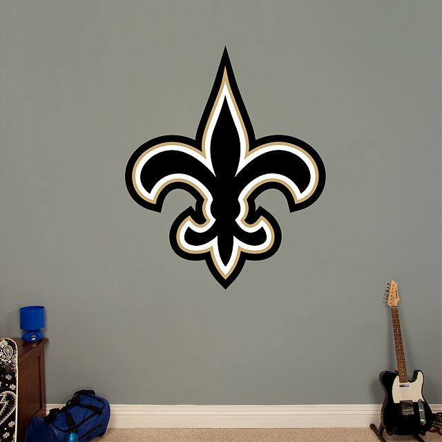 New Orleans Saints Logo Wall Decal Fathead For Decor