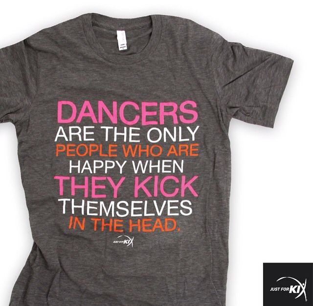 Perfect tee for dancers!!!