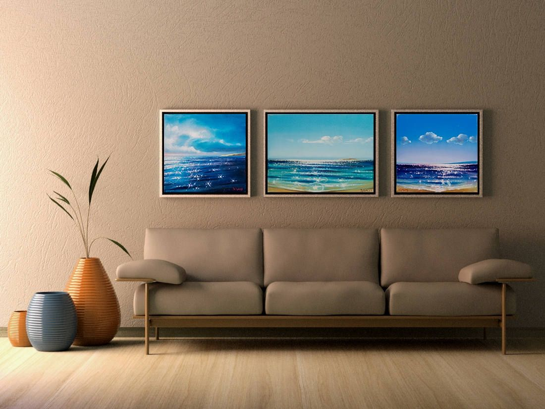 Seascapes Original oil painting on canvas Canvas Art Wall Art