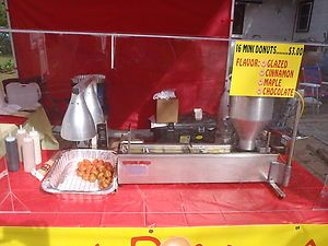Lil Orbits Mini Donut Machine Ss1200 Electric My Husband Would Love One Of These Mini Donuts Donuts Food Truck
