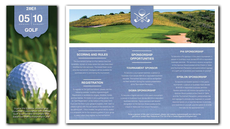 Brochure Golf Buscar Con Google Flyers Pinterest Golf And