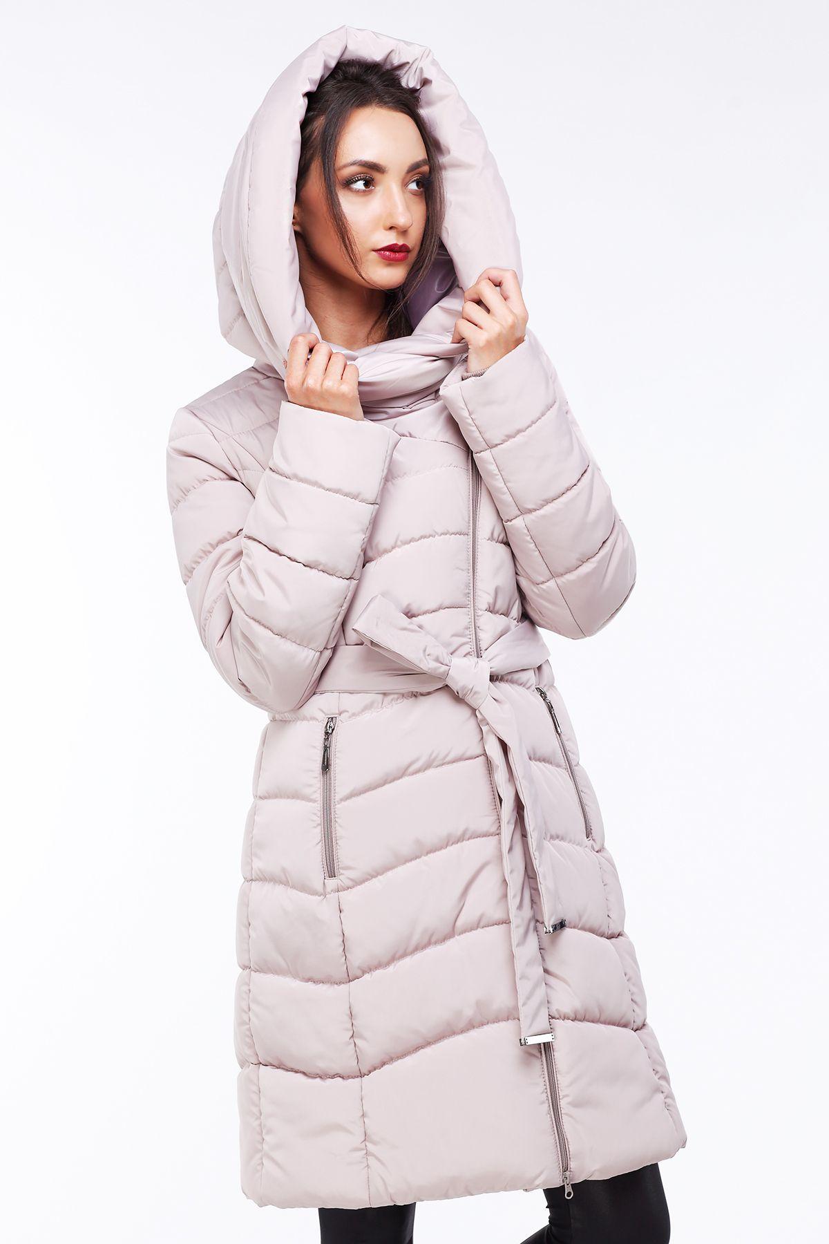 d532ee6eeaf Женское зимнее пальто пуховик Альмира от Nui Very - кремовый пуховик ...