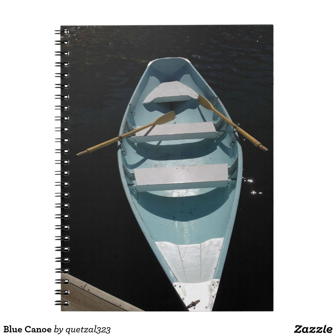 Blue canoe notebook blue canoe canoe