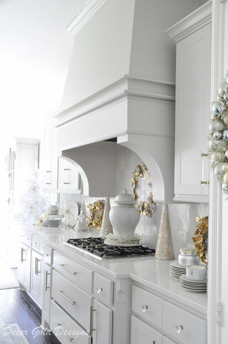Bright White Christmas Kitchen Christmas Kitchen Decor Christmas Kitchen Kitchen Decor