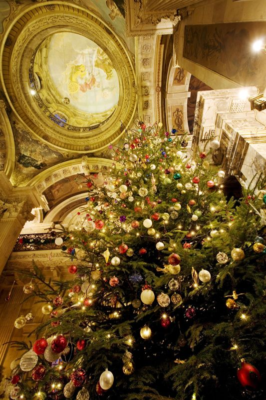 #Christmas #tree in the #Great #Hall of Howard Castle (because Christmas can also be grand and inspiring)