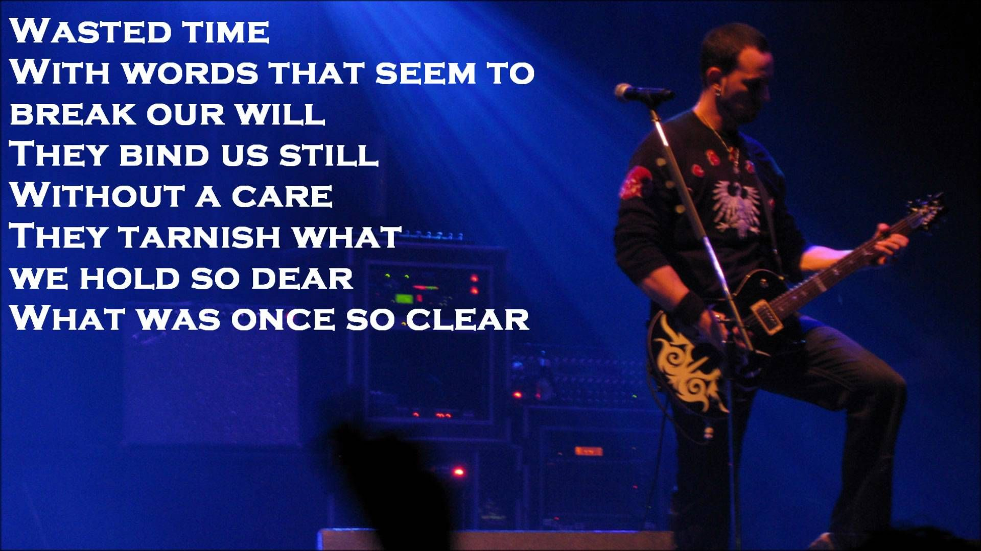 The End Is Here By Alter Bridge Lyrics Playlist