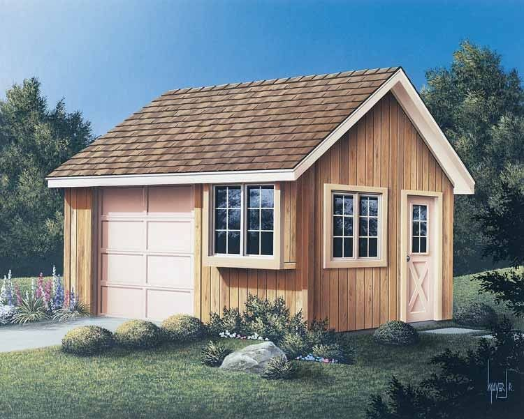 Eplans Project Plan - Convenient Shed - 0 Square Feet and 0 Bedrooms from Eplans - House Plan Code HWEPL11842