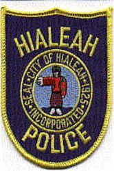 Hialeah Florida Fl Police Patch Insignia Police Patches Police Police Badge