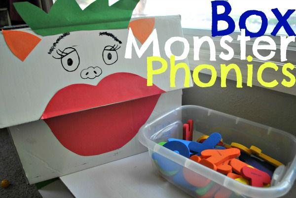 The Iowa Farmer's Wife: Box Monster Phonics