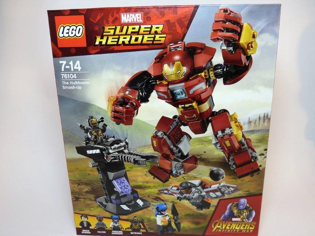 Infinity War The Hulkbuster Smash Up 76104 NEW Lego Super Heroes Avengers