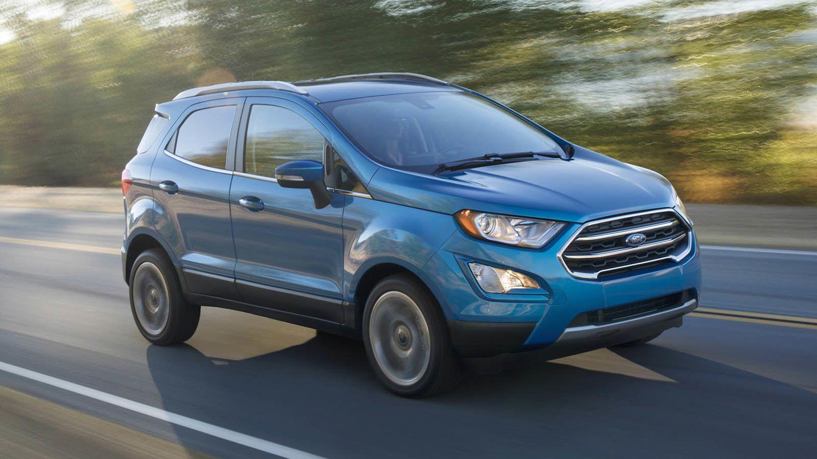 2017 Ford EcoSport Ford ecosport, suv, Suv