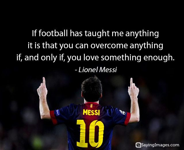 Inspirational Football Quotes By Famous Footballer Inspirational