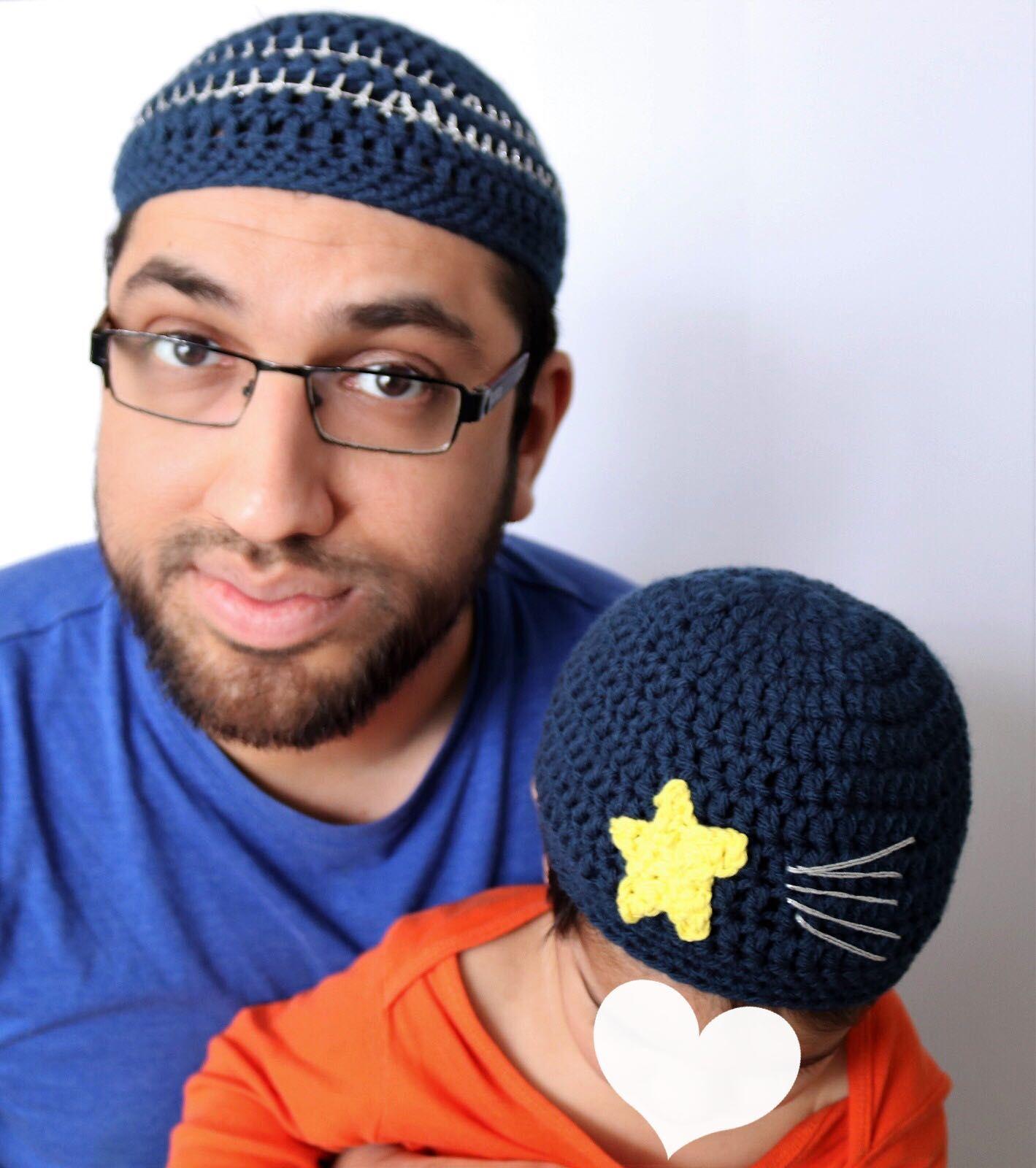 de4b07b28d4 Baba and Me Ramadan Kufi hat Set