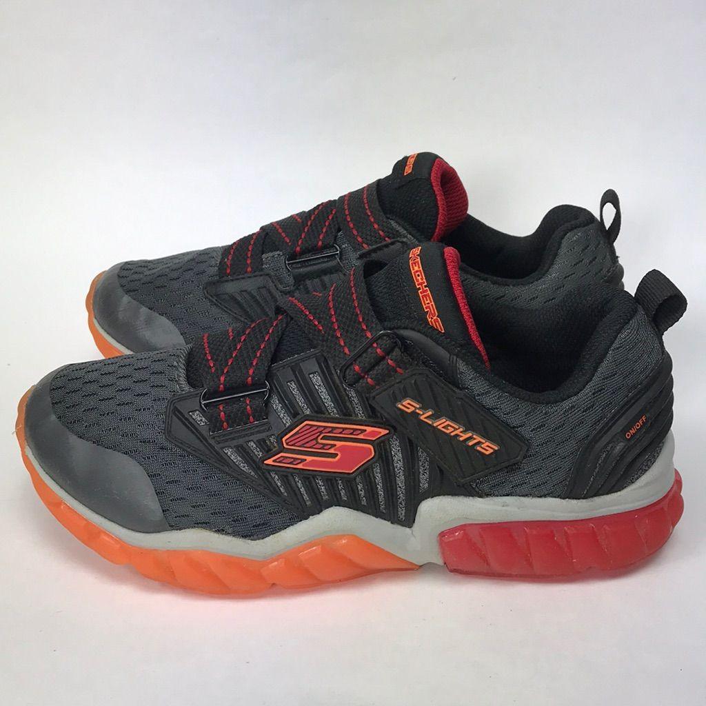 Skechers Shoes Skechers S Lights Sneakers Boys Size 2  Skechers S Lights Sneakers Boys Size 2