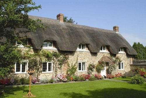 Rehau Upvc Windows Look At Home In This Beautiful Thatched