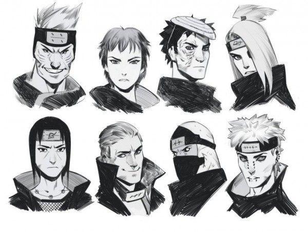 Naruto shippuden akatsuki dessin phobso manga news tvhland naruto naruto shippuden et - Dessins naruto ...
