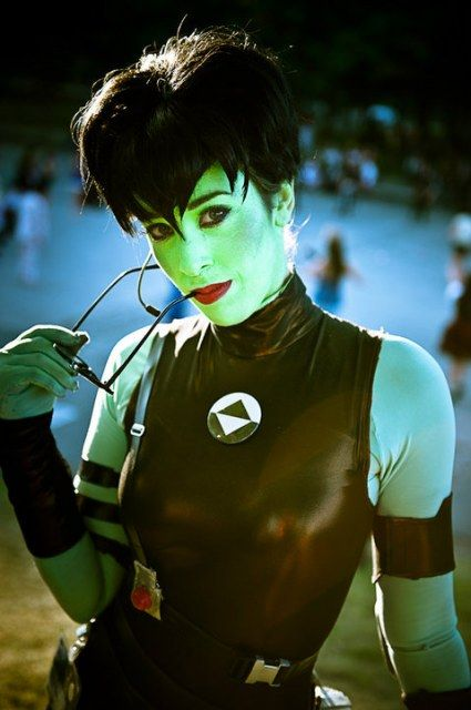 Dot Matrix Of Reboot Immitation Costume And Admiration By