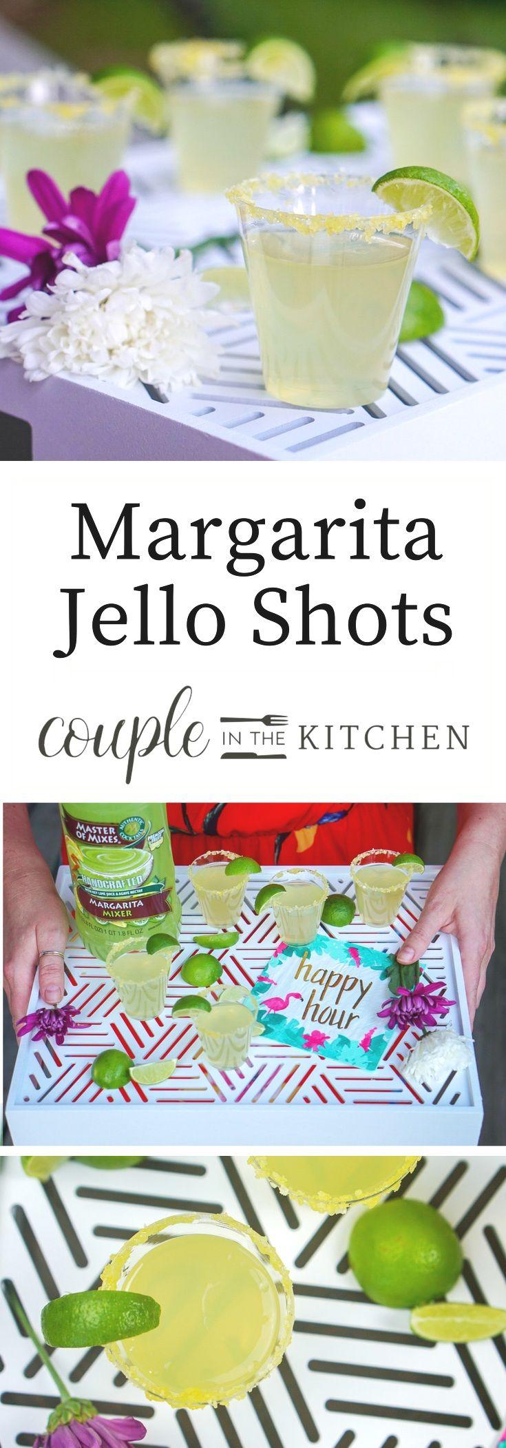 Festive margarita jello shots recipe margarita jello