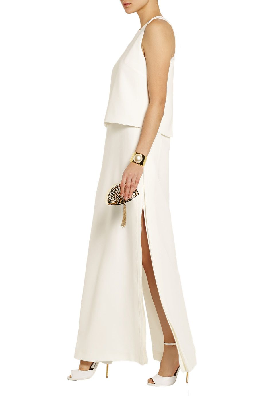 Shop on-sale Fendi Silk-cady gown. Browse other discount designer Dresses & more on The Most Fashionable Fashion Outlet, THE OUTNET.COM