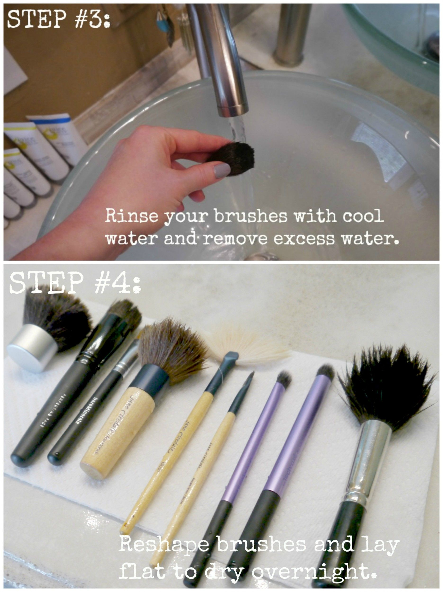 Cleaning Your Makeup Brushes Plus DIY Daily Brush Spritzer