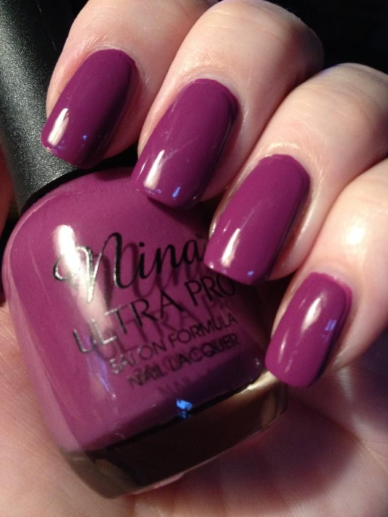 Nina Ultra Pro - Plum of the Earth. Pretty purple for fall. | Nail ...