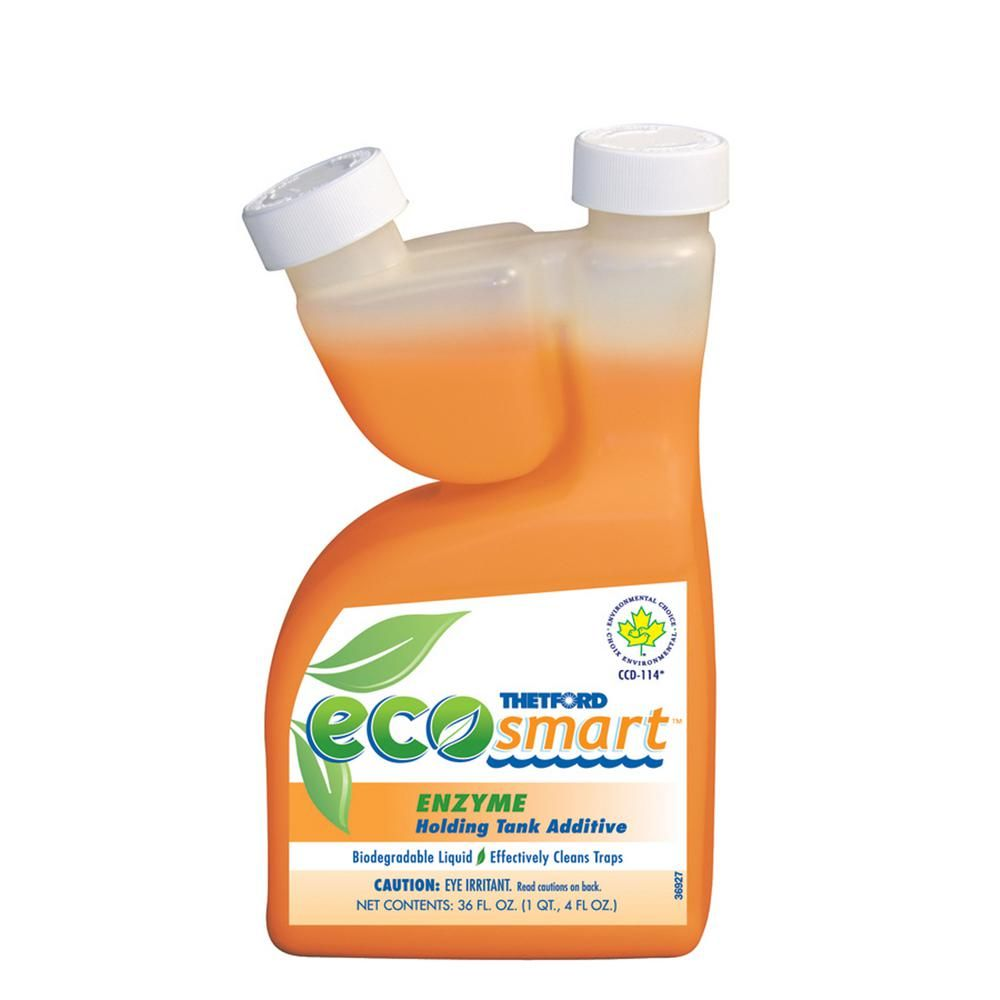 Thetford 36 Oz Eco Smart Enzyme Formula Holding Tank Deodorant 32947 The Home Depot Biodegradable Products Deodorant Enzymes
