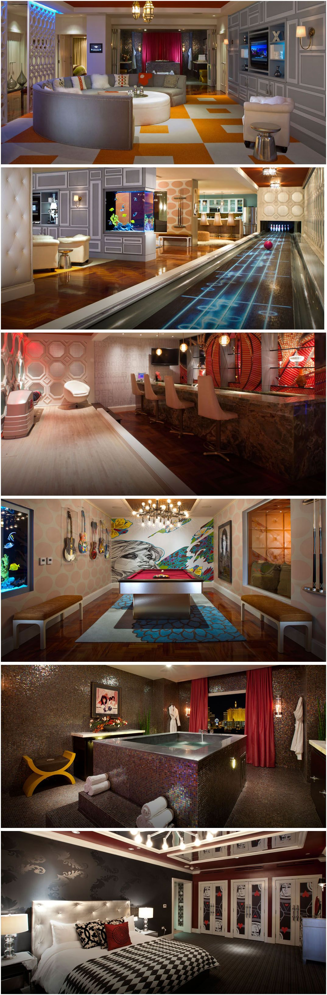 Las Vegas Strip 2 Bedroom Suites The 1 And 2 Bedroom Suites And Penthouses At Sky Suites Feature