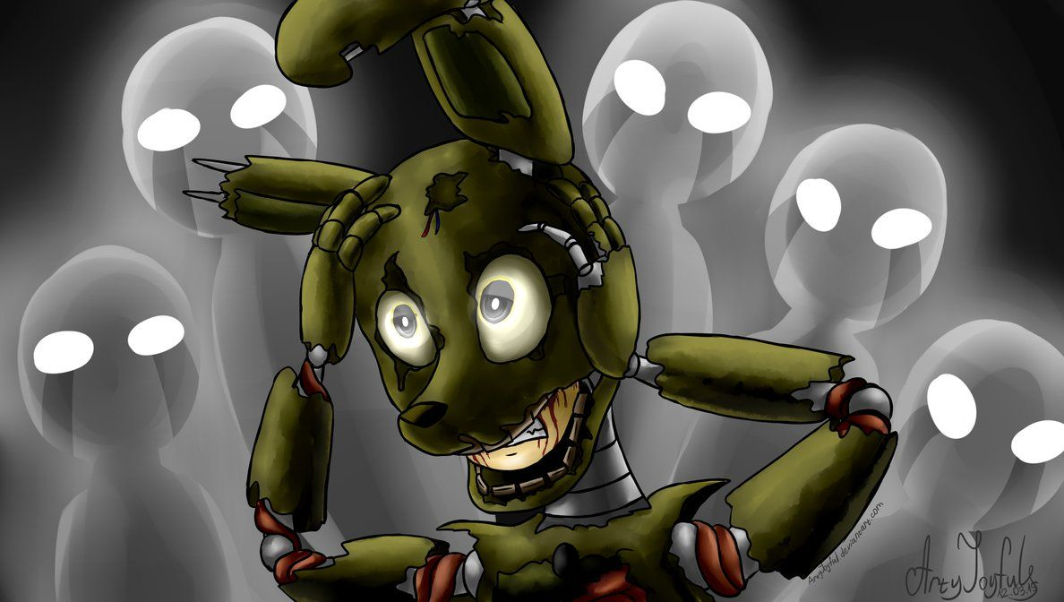Springtrap Trapped Five Nights At Freddy S 3 By Artyjoyful