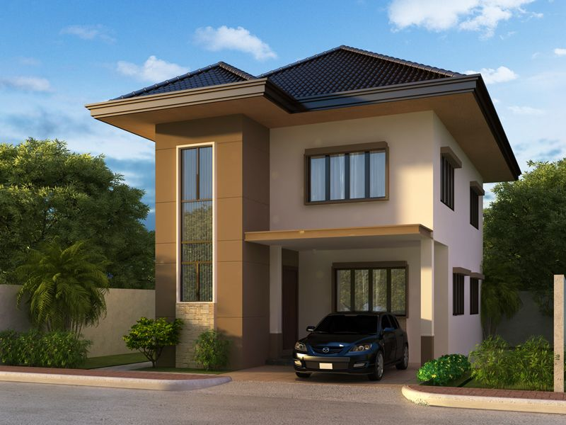 Two story house plans can be designed on almost any style Two story house designs