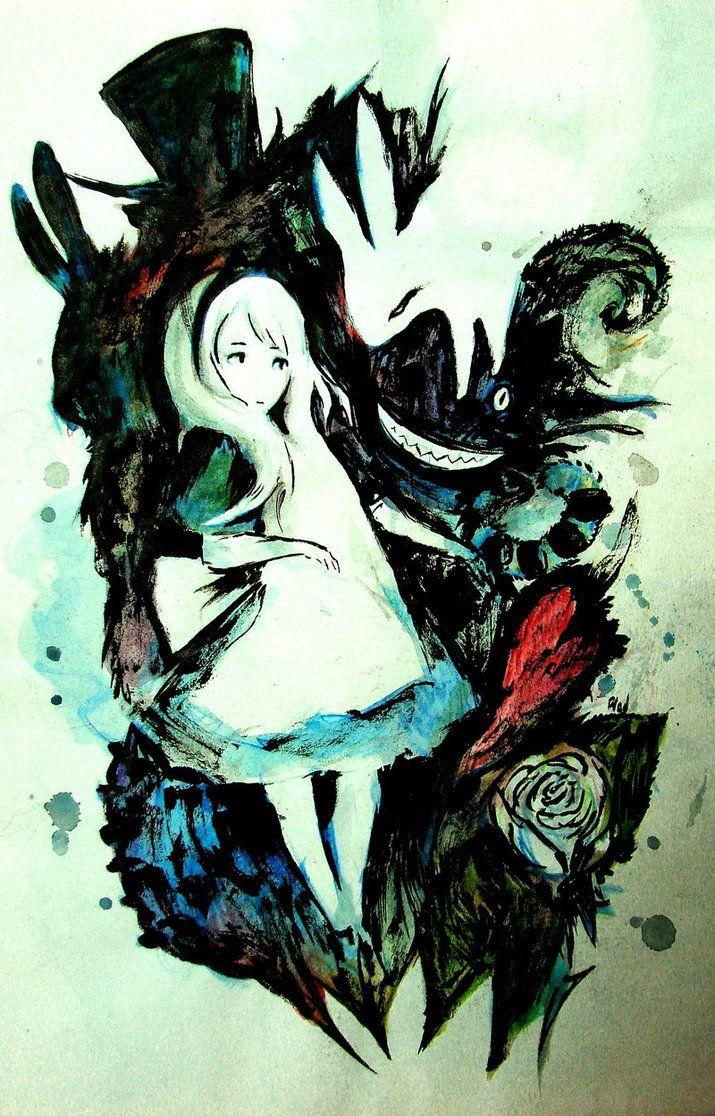 Grim Wonderland by Glad-Sad on DeviantArt