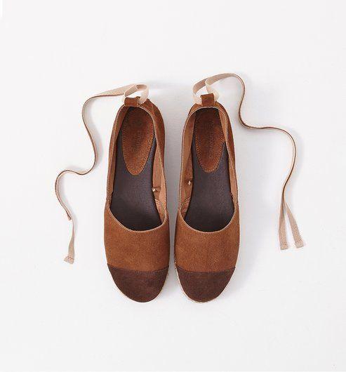 Meilleure vente paquet à la mode et attrayant nouveaux articles Skórzane espadryle czekoladowy - Promod | Shoes | Shoes ...