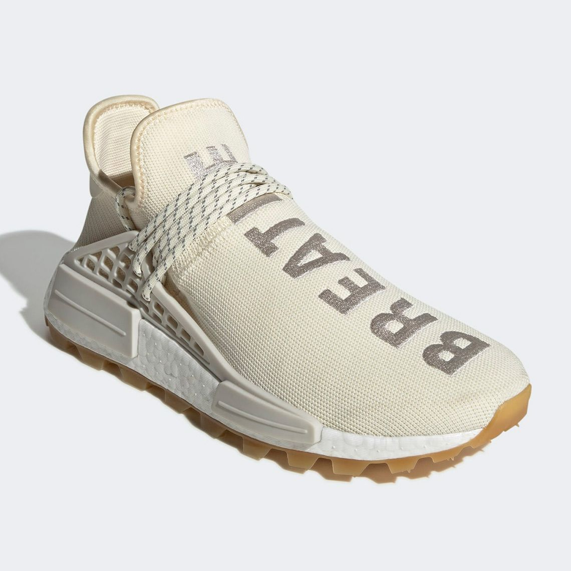Pharrell Adidas Nmd Hu Tr Cream White Eg7737 Sneakernews Com Adidas Nmd Stylish Shoes Cream Shoes