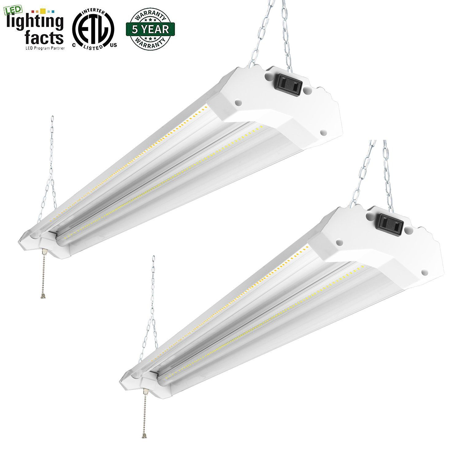 weather performance affect in lowes of shop light lights cold ft garage led fixture full fixtures does fluorescent size bulbs how