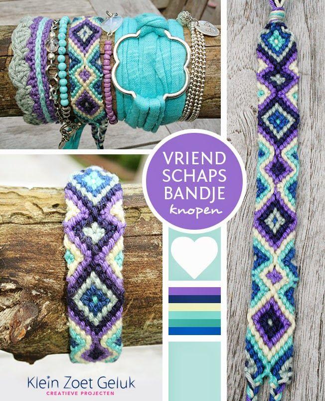 Vriendschaps Bandje Knopen Crafts Pinterest Friendship