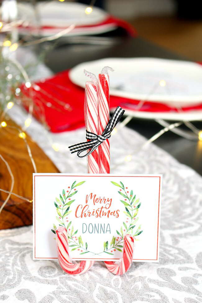 Christmas Printables Free Printable Christmas Place Cards Clean And Scentsible Christmas Place Cards Free Christmas Printables Christmas Gift Card