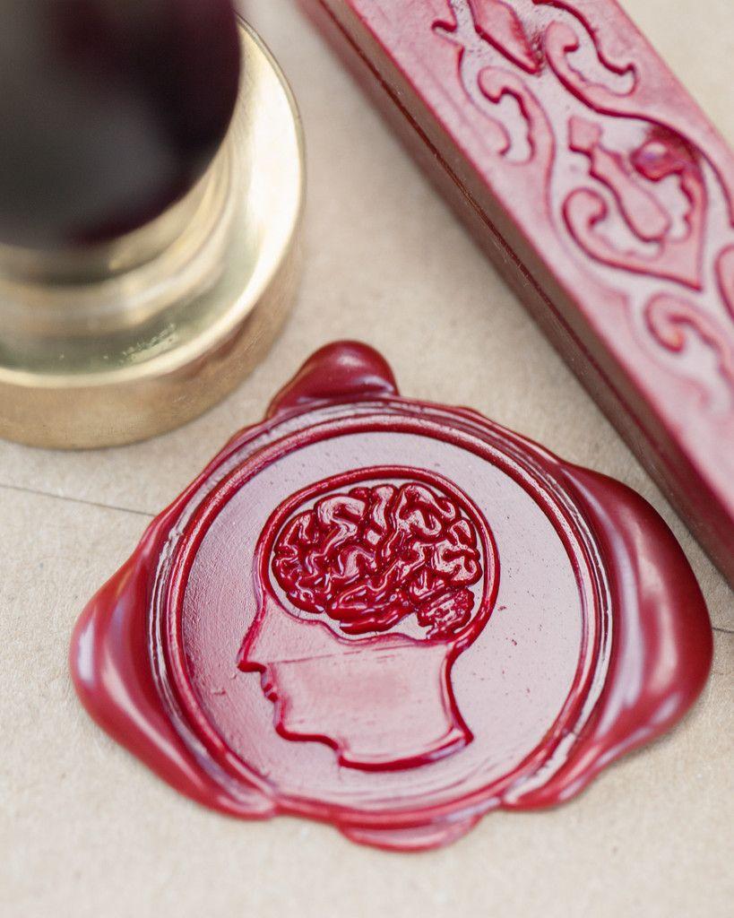 Brain Anatomy Wax Seal Kit   Wax seals, Wax and Wax stamp