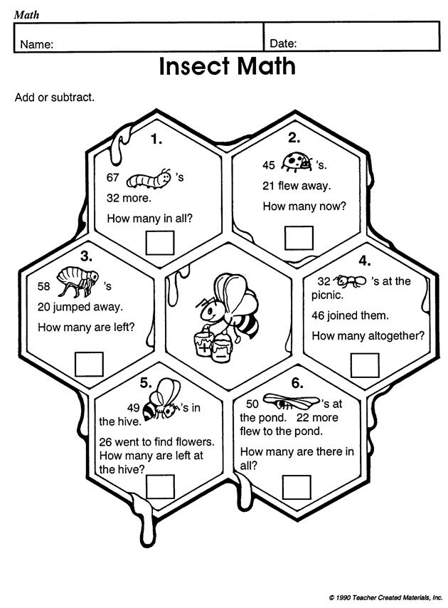 Do word problems bug your 3rd grader? Insect Math ought to