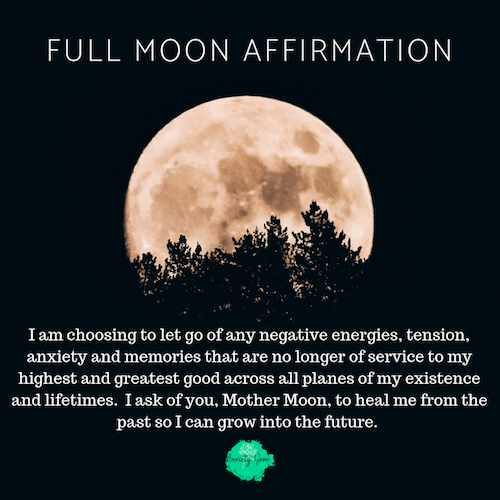 Full Moon Affirmation