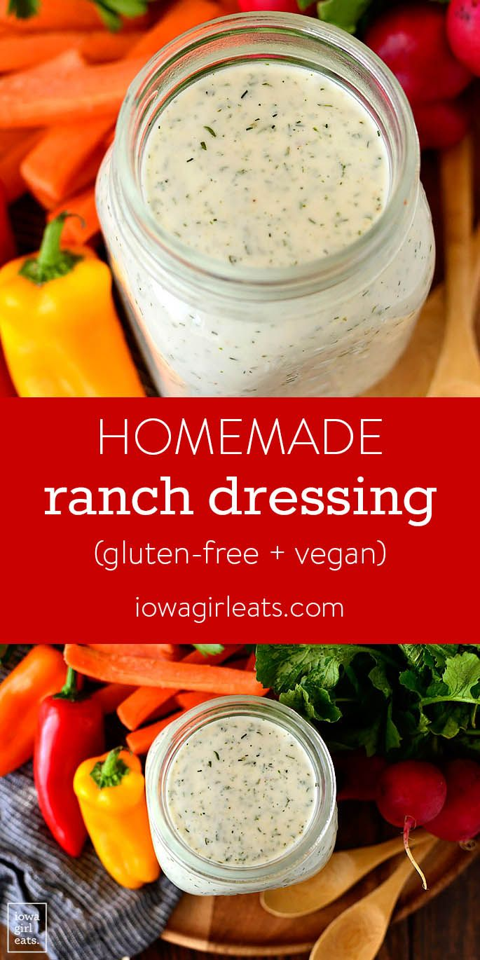 ranch dressing recept