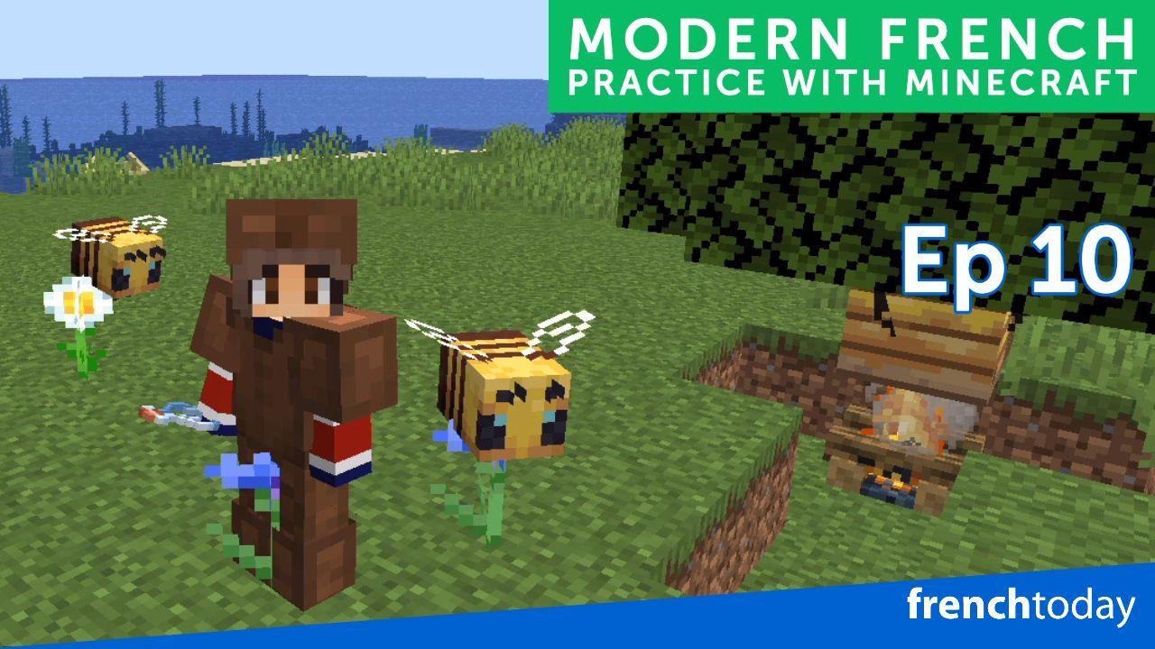 Watch Me Play Minecraft in French Minecraft en Français
