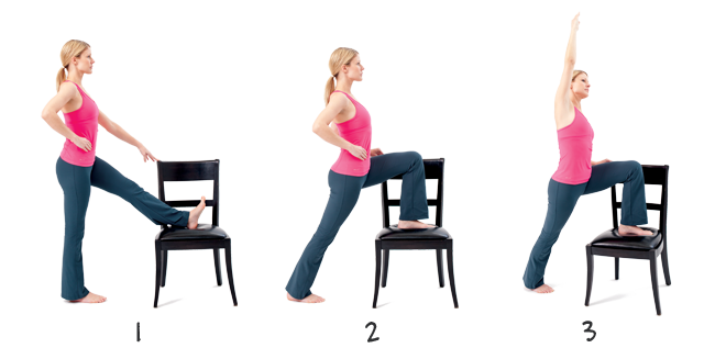Relieve stiff knees with the Standing Hip Flexor Stretch ...