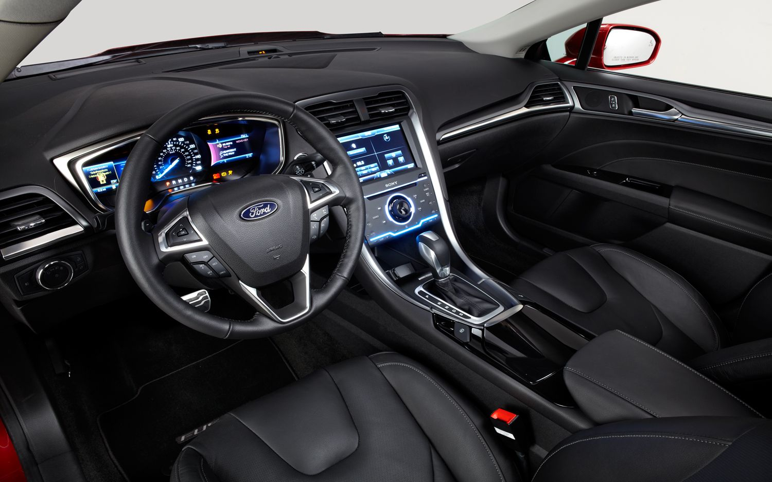 Charming 2013 Ford Fusion Interior Amazing Design