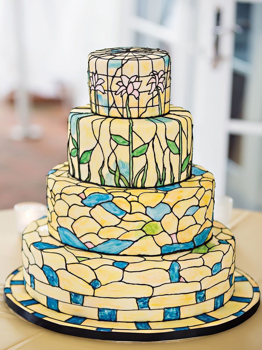16 Hand Painted And Watercolor Wedding Cakes Just In Time For