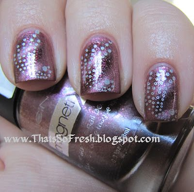 icing magnetix nails nail polish