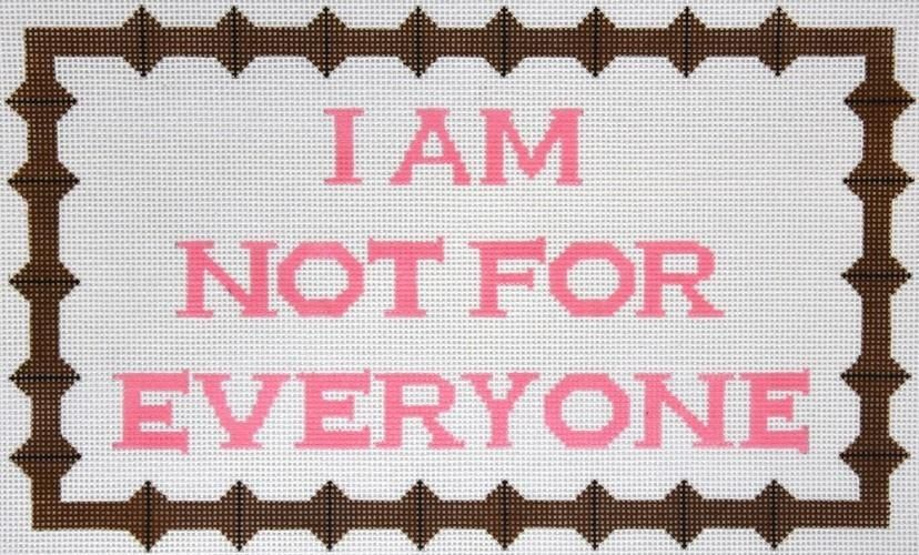 Open Closed Needlepoint Canvas Quote//Wisdom//Funny//Sayings