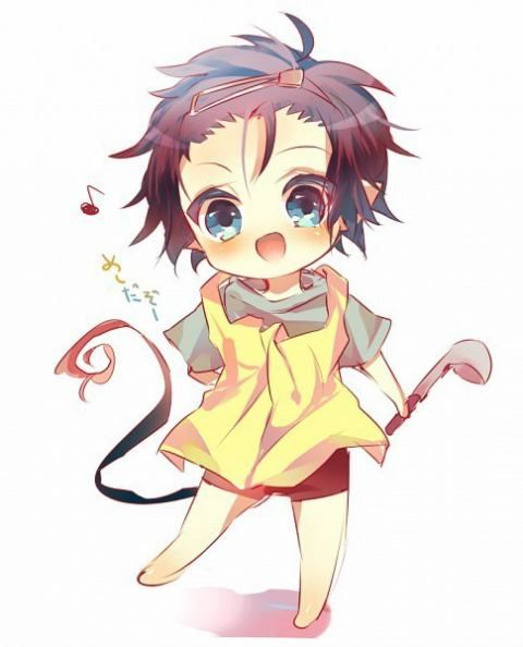Little cookin' baby Rin! Blue Exorcist