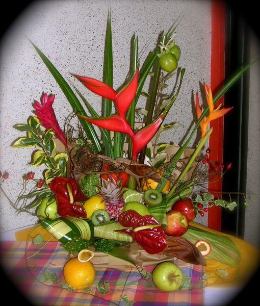 D coration florale de table maylis boniface d coration for Decoration florale table