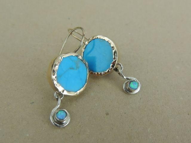 Sky Earrings.  Designed by Bracha Mizrachi.  Price: $ 130.00