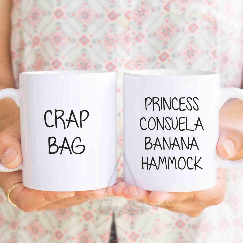 princess consuela banana hammock funny couple mugs f r i e n d s tv show his and hers princess consuela banana hammock funny couple mugs f r i e n d s      rh   pinterest