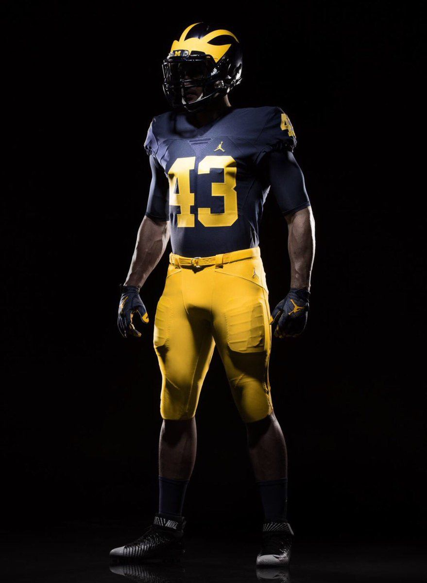 cb552c914a5bf Official First Look At Michigan's New Jordan Uniforms | Just Go Blue ...